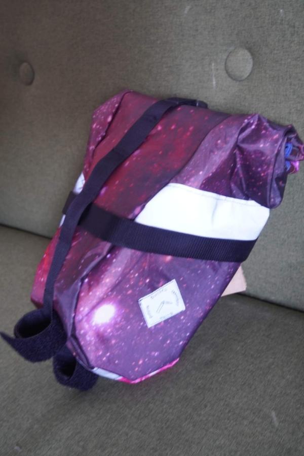 Space Series  - Rocketpocket - Satteltasche